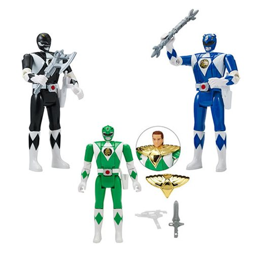 Power Rangers Legacy Head Morph Figure Wave 2 Set