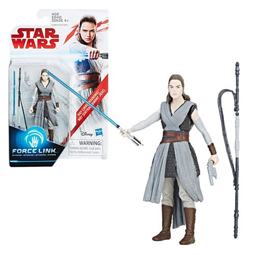 Star Wars: The Last Jedi Rey Action Figure, Not Mint