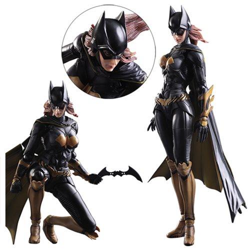 New Square Enix Play Arts Kai Batman Arkham Knight Batgirl Action Figure no box