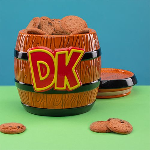 Super Mario Donkey Kong Cookie Jar