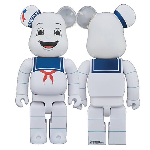 Ghostbusters Stay Puft 400% Bearbrick Figure