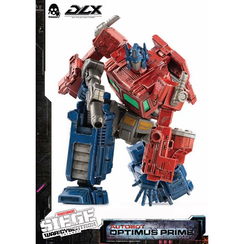 Transformers War for Cybertron Trilogy Optimus Prime Deluxe Action Figure