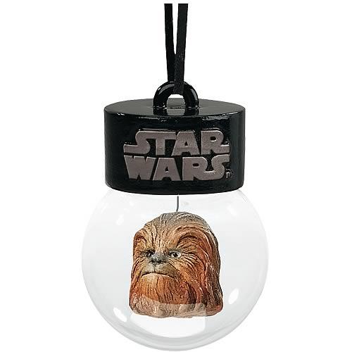 star wars chewbacca holiday waterball ornament - Chewbacca Christmas Ornament