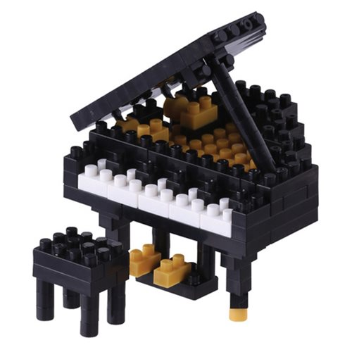 Black Grand Piano Nanoblock Constructible Figure