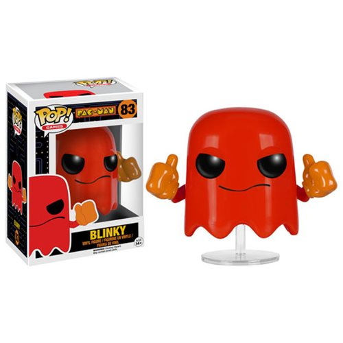 Pac-Man Blinky Pop! Vinyl Figure, Not Mint