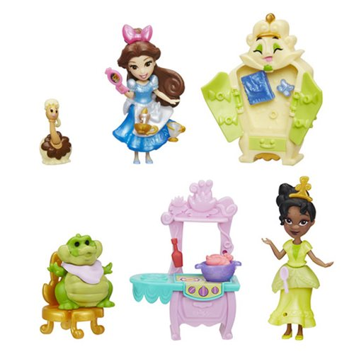 Disney Princess Small Dolls Story Moments Wave 4 Set