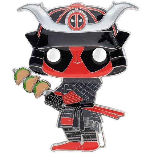 Deadpool Taco Deadpool Large Enamel Pop! Pin
