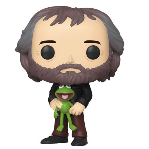 Muppets Jim Henson with Kermit Pop! Vinyl Figure, Not Mint