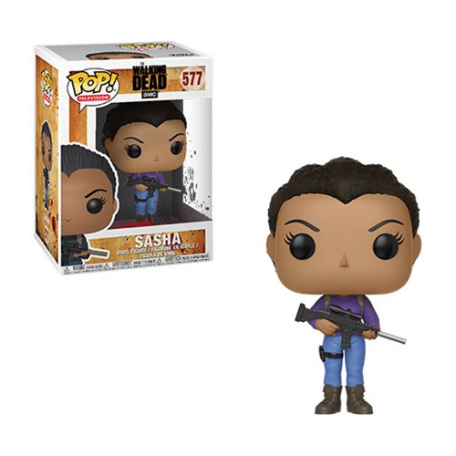 The Walking Dead Sasha Pop! Vinyl Figure #577