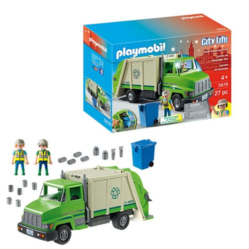 Playmobil 5679 Green Recycling Truck