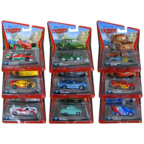 Cars 2 Character Die Cast Cars Wave 5 Case Entertainment Earth