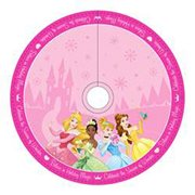 Disney Princesses 48-Inch Satin Printed Tree Skirt