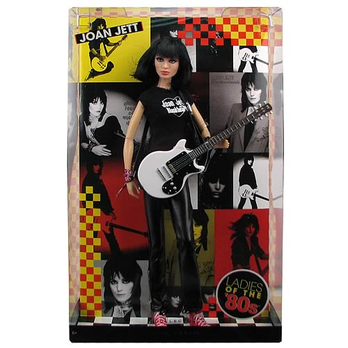 Joan Jett Ladies of the 80s Barbie Doll
