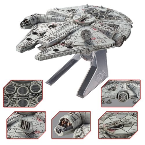Star Wars Return of the Jedi Millennium Falcon Hot Wheels Elite Die-Cast Metal Vehicle