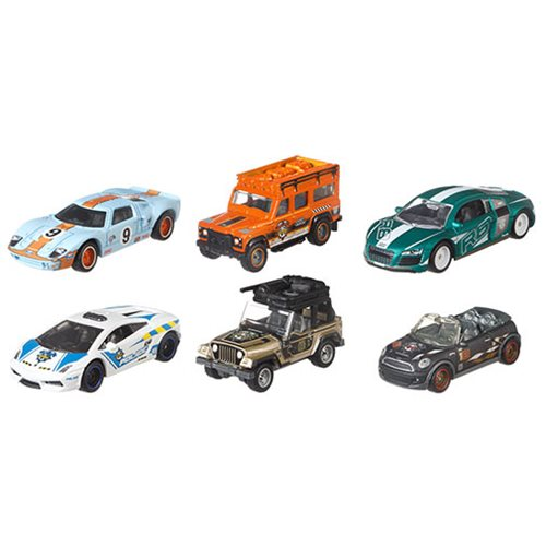 Matchbox Globe Travellers 2018 Die-Cast Vehicle Case