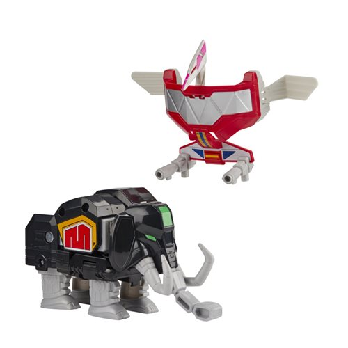 Power Rangers Mighty Morphin Mastodon and Pterodactyl Tiger Dinozord 2-Pack