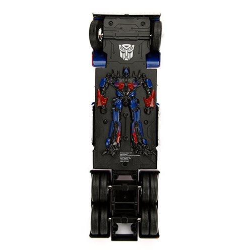 Transformers The Last Knight Hollywood Rides Optimus Prime 1:24 Scale Die-Cast Metal Vehicle