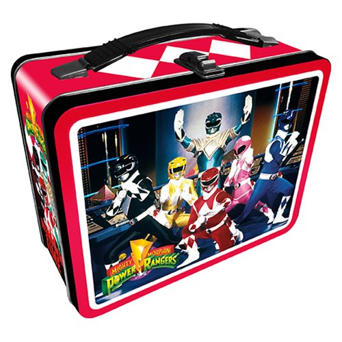 Power Rangers Gen 2 Fun Box Tin Tote