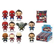 Spider-Man Homecoming 3-D Figural Key Chain Random 6-Pack