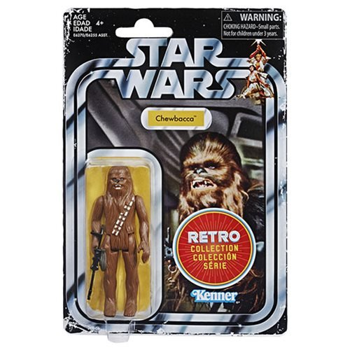 Star Wars The Retro Collection Chewbacca Action Figure