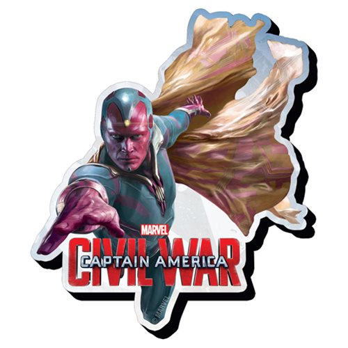 Captain America: Civil War Vision Funky Chunky Magnet