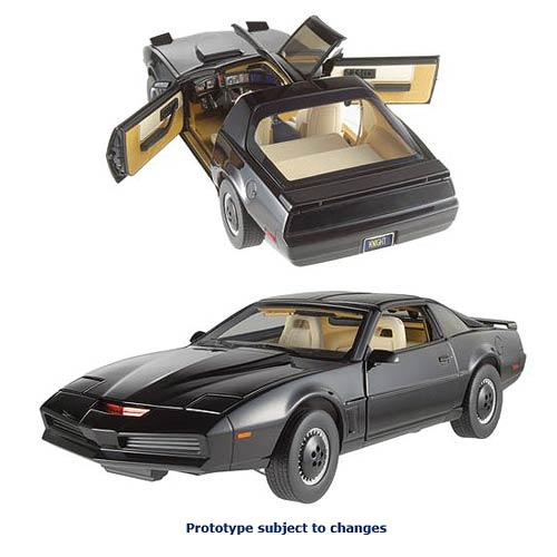 Knight Rider KITT w/ Voicebox 1:18 Scale Hot Wheels Elite
