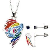My Little Pony Rainbow Dash Necklace Earring Set