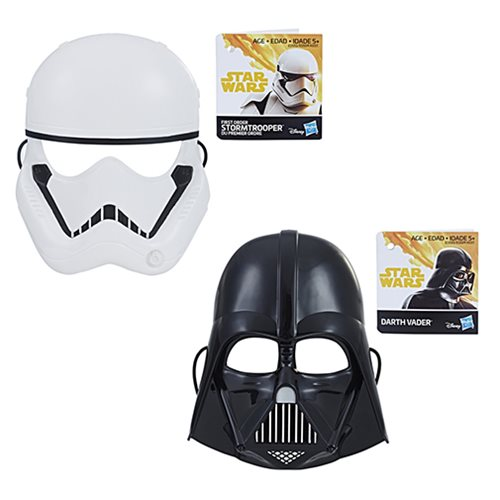 Star Wars Solo Basic Masks Wave 1 Set