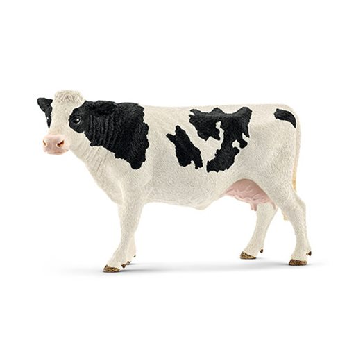 Farm World Holstein Cow Collectible Figure