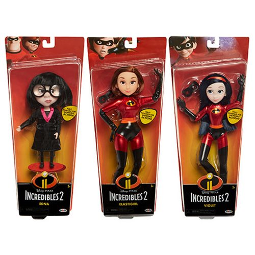 Incredibles 2 Costumed Dolls Wave 1 Case