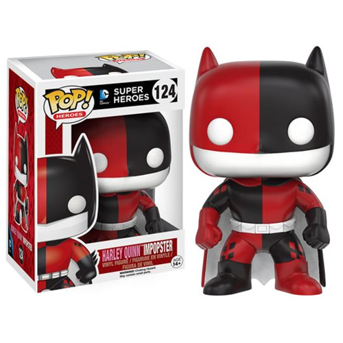 Batman Impopster Batman Harley Quinn Pop! Vinyl Figure, Not Mint