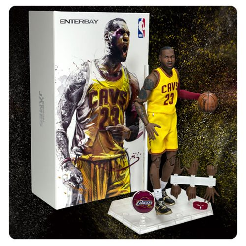 NBA Collection LeBron James Motion Masterpiece 1:9 Scale Action Figure