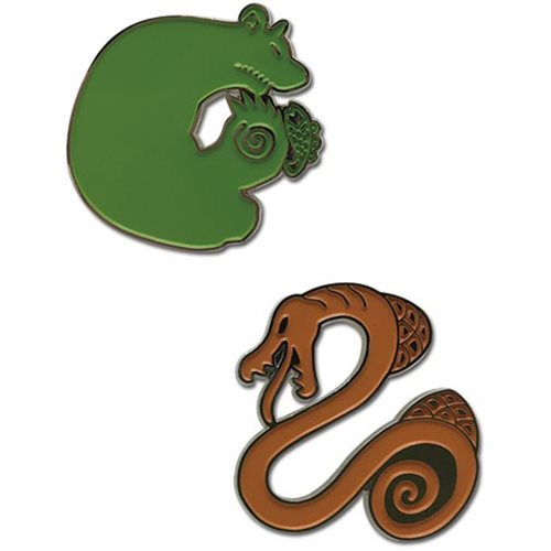 The Seven Deadly Sins Sin of Envy and Sin of Sloth Pin Set