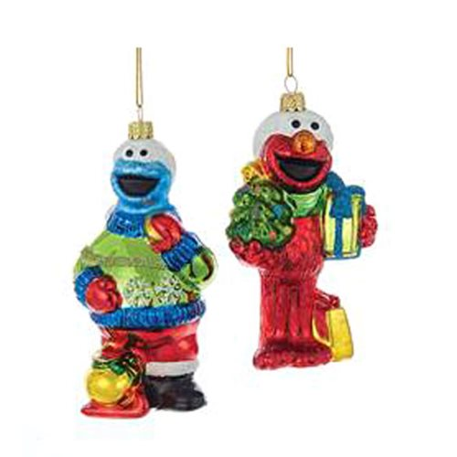 Sesame Street 4 3/4-Inch Glass Ornament Case