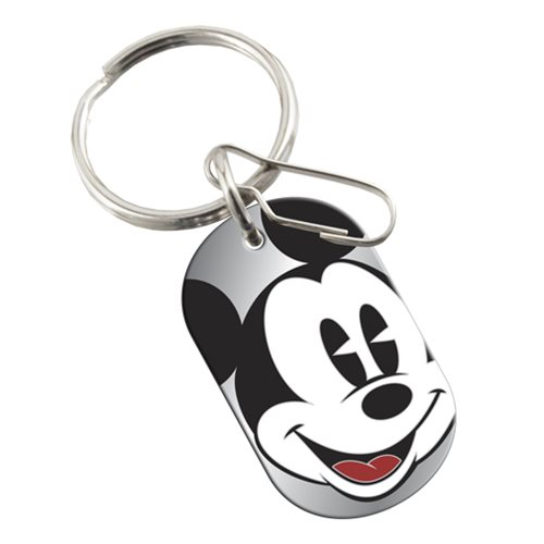 Disney Mickey Expressions Tag Enamel Key Chain