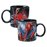 Spider-Man 20 oz. Ceramic Heat Reactive Mug