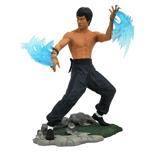 Bruce Lee Gallery Water Statue