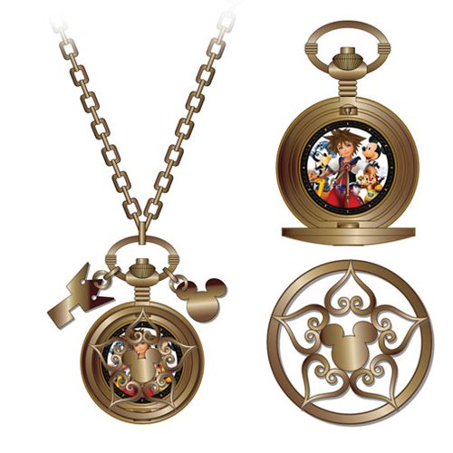Kingdom Hearts Icons Pendant Watch