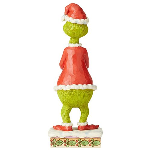Dr. Seuss The Grinch with Clasped Hands by Jim Shore Statue