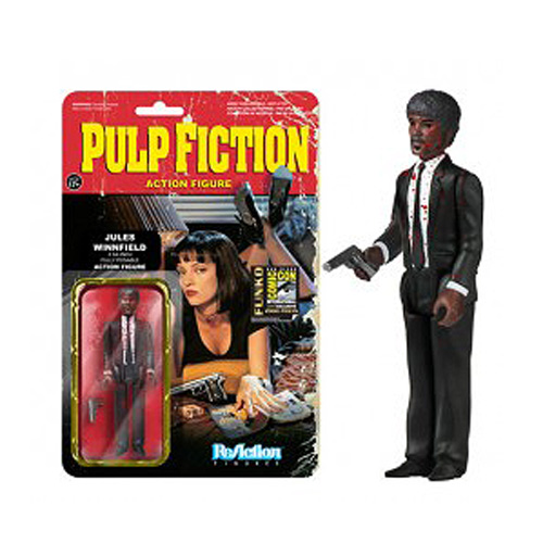 SDCC Exclusive Pulp Fiction Bloody Jules Winfield 3 3/4-Inch Action Figure