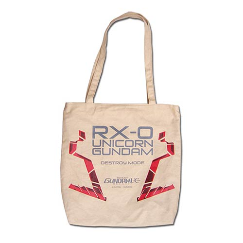Gundam UC Unicorn Gundam Tote Bag