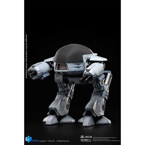 RoboCop ED-209 1:18 Scale Action Figure with Sound
