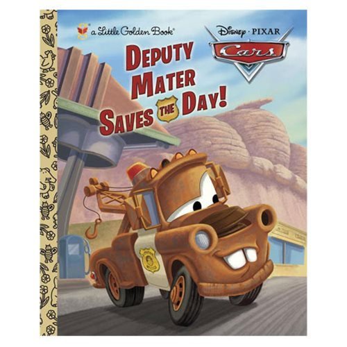 Disney/Pixar Cars Deputy Mater Saves the Day Little Golden Book