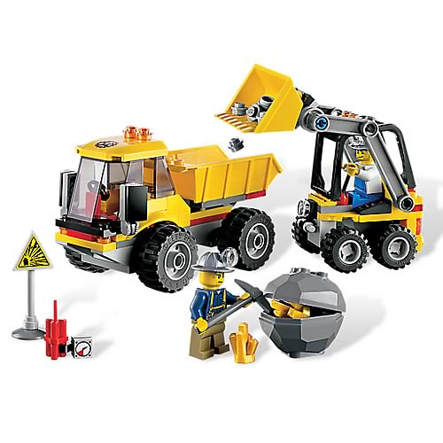 LEGO City Mining 4201 Loader and Tipper