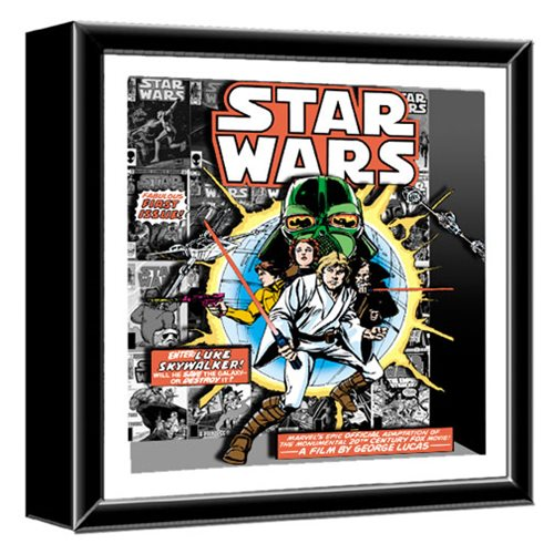 Star Wars Comic Book First Issue Shadowbox
