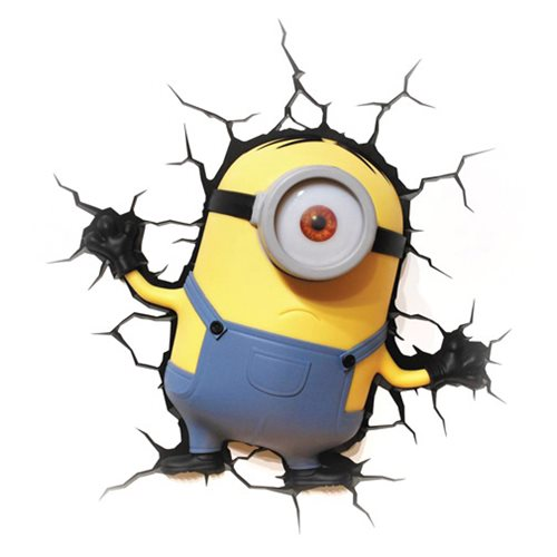 Minions Stuart 3D Light