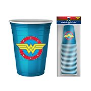 Wonder Woman 18 oz. Disposable Party Cups 20-Pack