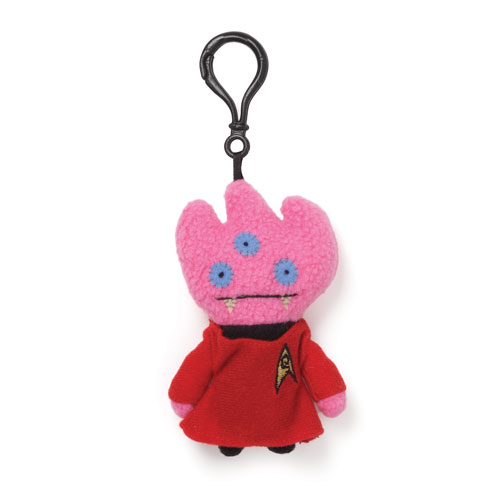 Star Trek Uglydoll Tray Lt. Uhura Clip-On Backpack Plush