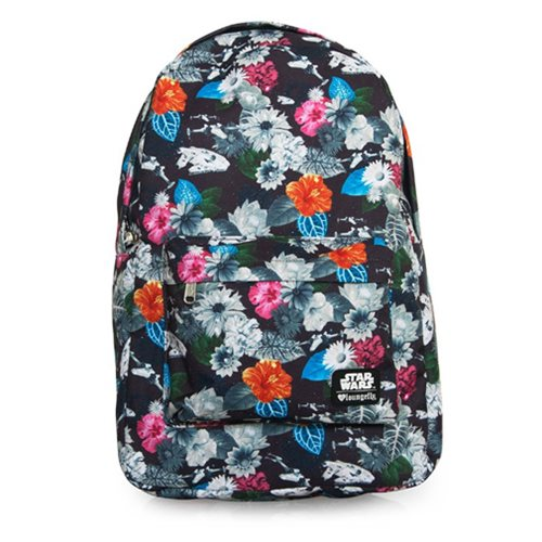 Star Wars Floral Print Backpack