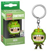 Fortnite Rex Pocket Pop! Key Chain